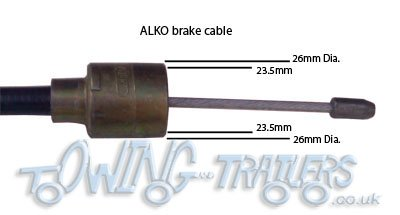 Identifying trailer brake cables (al-ko) with 26mm cup