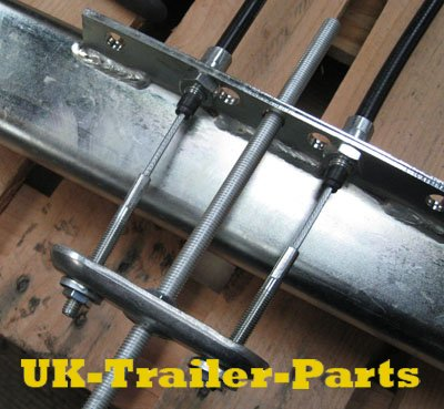 Adjusted single axle compensator