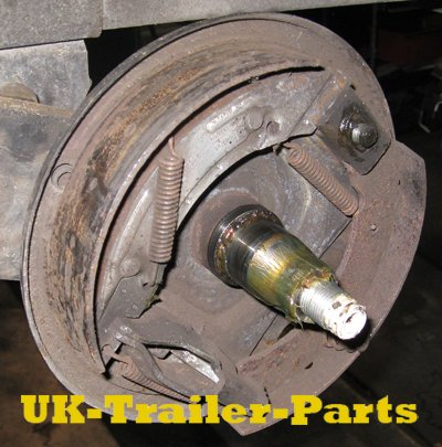 Remove the brake drum