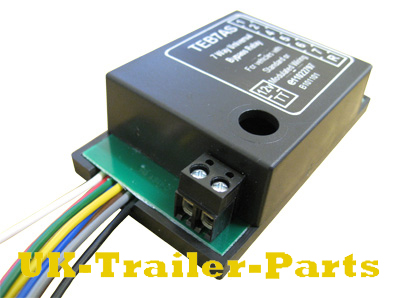 way universal bypass relay wiring diagram uk trailer parts 7 way universal bypass relay left side