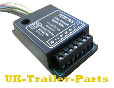 7 way universal bypass relay wiring diagram uk trailer parts rh uk trailer parts co uk Light Relay Wiring Diagram 5 Pole Relay Wiring Diagram