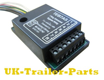 7 way universal bypass relay wiring diagram uk trailer parts 7 way universal bypass relay right side