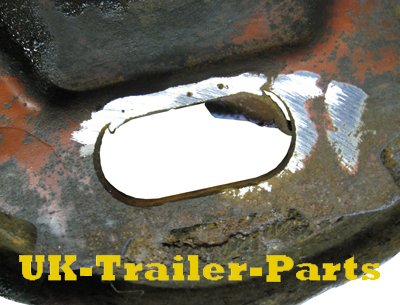 Grind off the weld and remove the old cover plate