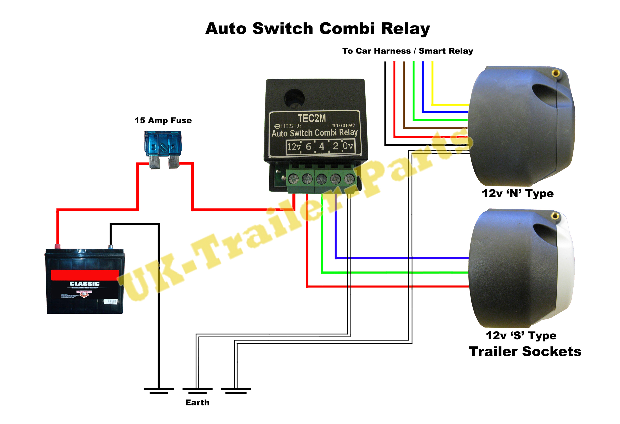 Outstanding Split Charge Relay Wiring Diagram Towbar Wiring Diagram 7 Pin Wiring Wiring Digital Resources Remcakbiperorg