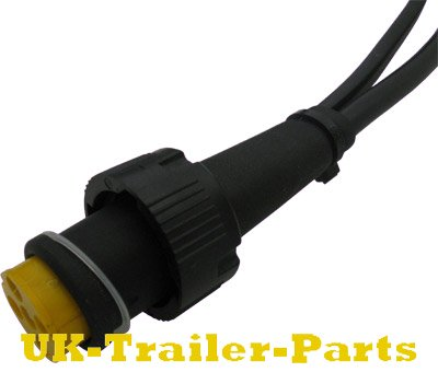 Aspock 5 pin Bayonet plug with additional DC-Flat cable