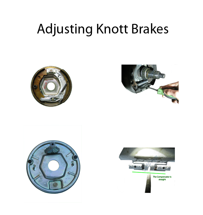 Adjusting Knott Brakes